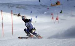 مسابقات اسکی آلپاین در پولادکف سپیدان؛ رونق بخش گردشگری