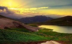 دریاچه دالامپر ارومیه، افسانه ای که رمز بهشت است