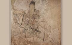 کهن ترین نقاشی دیواری صدر اسلام در موزه ملی ایران به نمایش درآمد