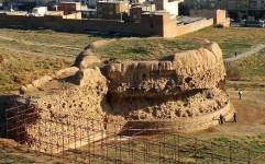 کشف سازه ای با کاشی کاری های ۷۰۰ ساله در ربع رشیدی