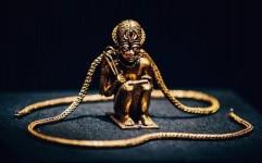 گنجینه فرعون طلایی به لندن رسید