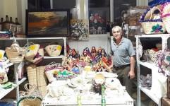 افتتاح فروشگاه صنایع دستی بوشهر در قطر