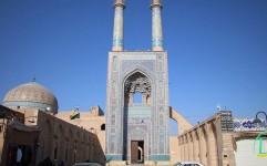 راز مثلثهای مرمرین پشت بام مسجد جامع یزد چیست؟