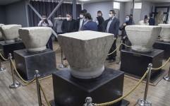 موزه سرستون های ساسانی طاق بستان افتتاح شد