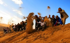 ممنوعیت ورود تورهای مختلط به کویر مرنجاب و شهر اویی نوش آباد