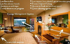 مسافران از هتل های سبز استقبال می کنند