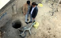 توقف عملیات مترو در محل کشف سفال های تاریخی در میدان تختی اصفهان