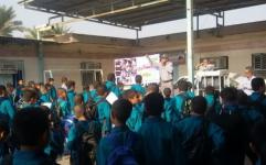 100 دانش آموز اهوازی میراث بان افتخاری شدند
