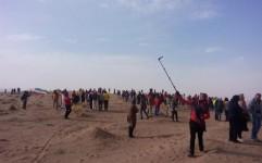 """جشنواره کویرنوردی """"گردشگری خاک"""" برگزار شد"""