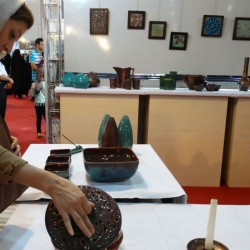 گزارش تصویری بیست و پنجمین نمایشگاه ملی صنایع دستی