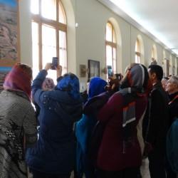 بازدید راهنمایان گردشگری از موزه ملی