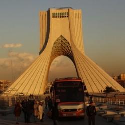 بازدید راهنمایان گردشگری از برج آزادی