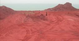 خاک رنگی جزیره هرمز را نخرید