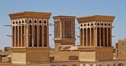 تنها بادگیر گرد ایران در یزد