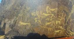 نقوش صخره ای ۵ هزارساله در میمه کشف شد