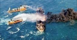 سانچی، بزرگ ترین آلودگی نفتی قرن 21 را به جا گذاشت
