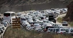 ترافیک پرحجم و سنگین چالوس و هراز