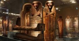 نمایشگاه کشف مرده ها در مصر برگزار شد