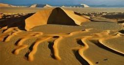 بلندترین تپه های ماسه ای جهان در ایران