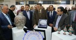 نمایشگاه فرش و تابلوفرش نفیس ایرانی در بغداد برپا شد