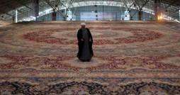 بزرگترین فرش یکپارچه جهان در تبریز رونمایی شد