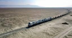 قطار گردشگری کویر راه اندازی شد