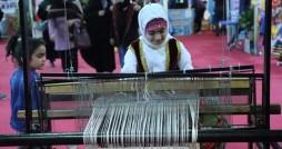 برپایی غرفه های آموزشی صنایع دستی در جشنواره اقوام گلستان