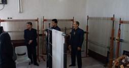 برگزاری اولین دوره آموزشی پلاس بافی در قاینات