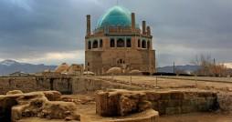 بازگشایی بزرگترین گنبد آجری جهان در زنجان