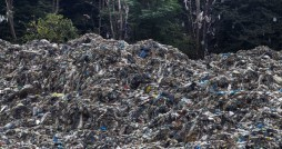 زنگ خطر تلنبار زباله در عرصه های جنگلی کلاردشت
