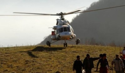 پرواز ۲۰۸ ساعته بالگردهای هلال احمر برای اطفای حریق جنگل ها