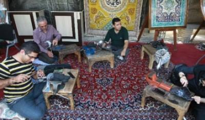 نمایشگاه صنایع دستی در اصفهان گشایش یافت