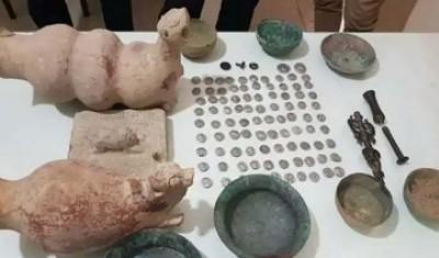مجسمه گیلگمش در کرمانشاه کشف شد