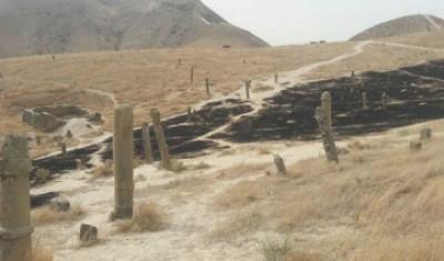 دیوار بی تفاوتی در آتش سوزی محوطه های تاریخی بالاتر رفته!