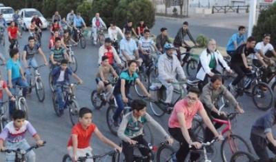 تبدیل یزد به هلند ایران به کمک دوچرخه سواری