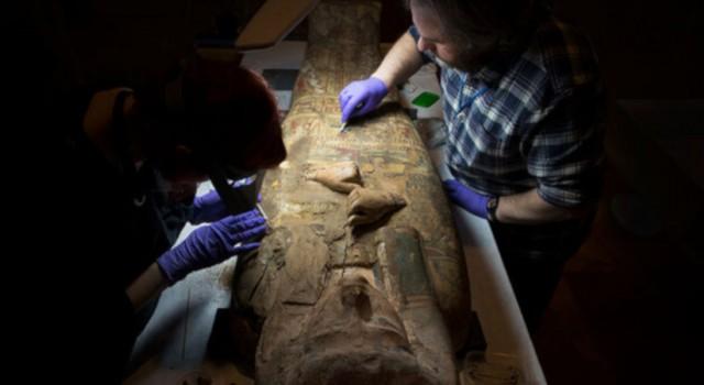 یک اکتشاف غیرمنتظره در تابوت مومیایی مصری