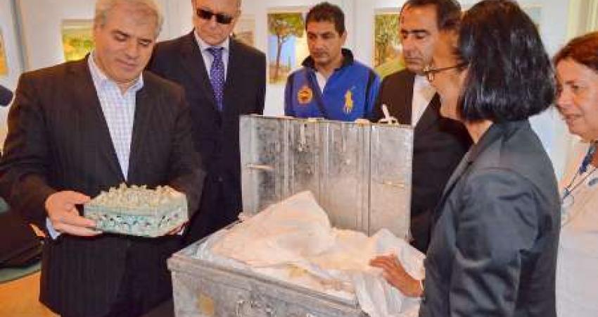 استرداد حدود 30 قطعه از اشیا و آثار فرهنگی متعلق به دوران قبل و پس از اسلام به ایران