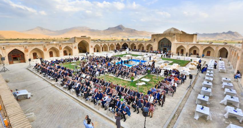 کاروانسرای عباسی کرمانشاه هتل شد