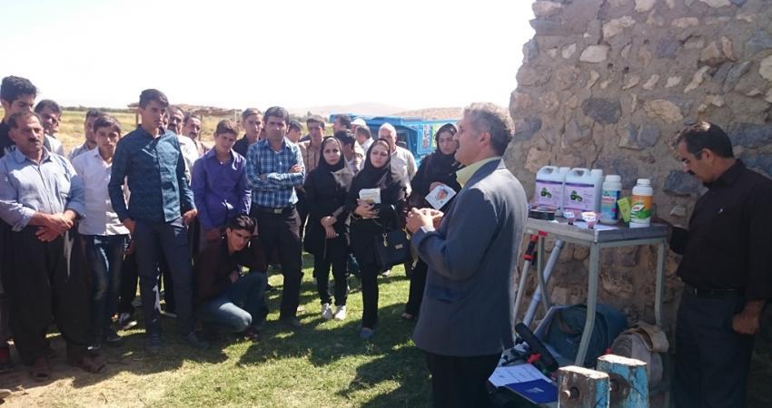 نمایشگاههای توسعه مشارکتی فن آوریهای کشاورزی پایدار در حوضه آبریز دریاچه ارومیه برگزار شد
