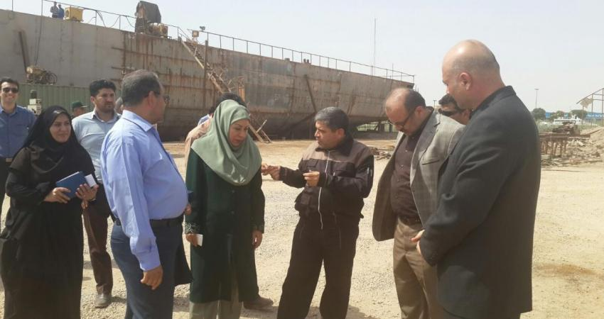 ایران هیچ وقت نباید مرکز بازیافت کشتی های دیگر کشورها شود