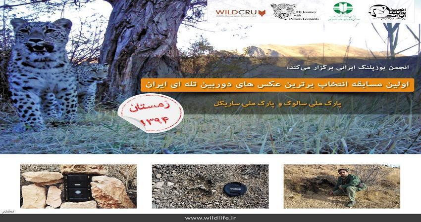 برگزاری اولین مسابقه عکس دوربین های تله ای ایران