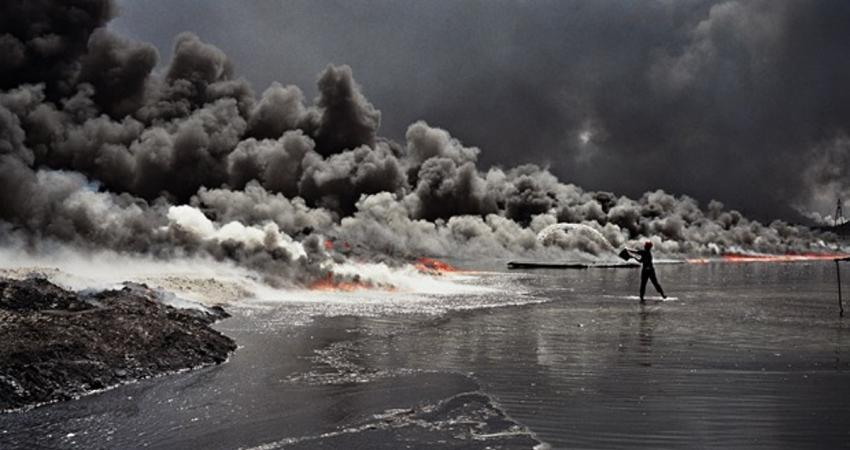 دود جنگ در چشم محیط زیست