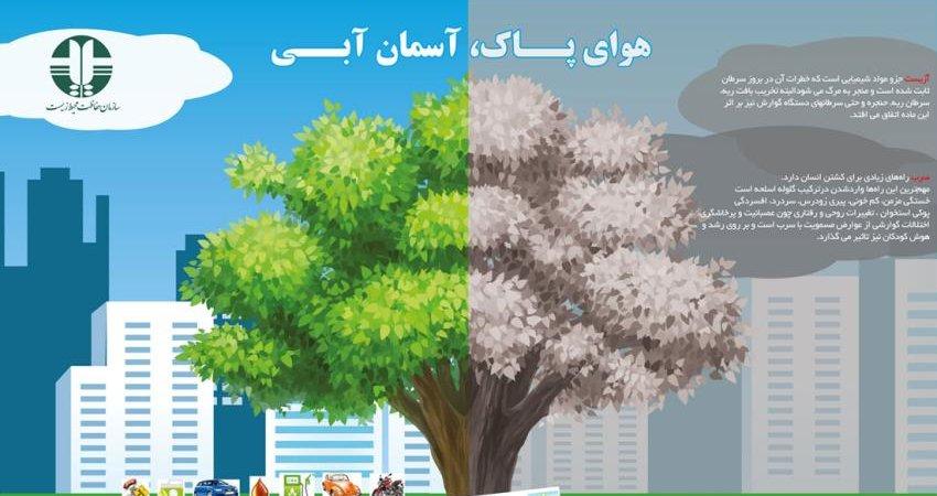 شعاری بی پاسخ از محیط زیستی ها؛ نقش من در حفظ هوای پاک چیست؟