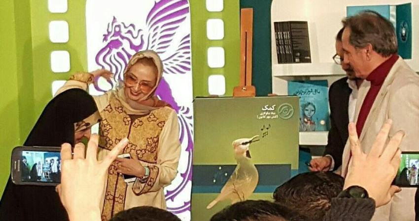 رونمایی از زاغ بور در شب محیط زیست در جشنواره فیلم فجر