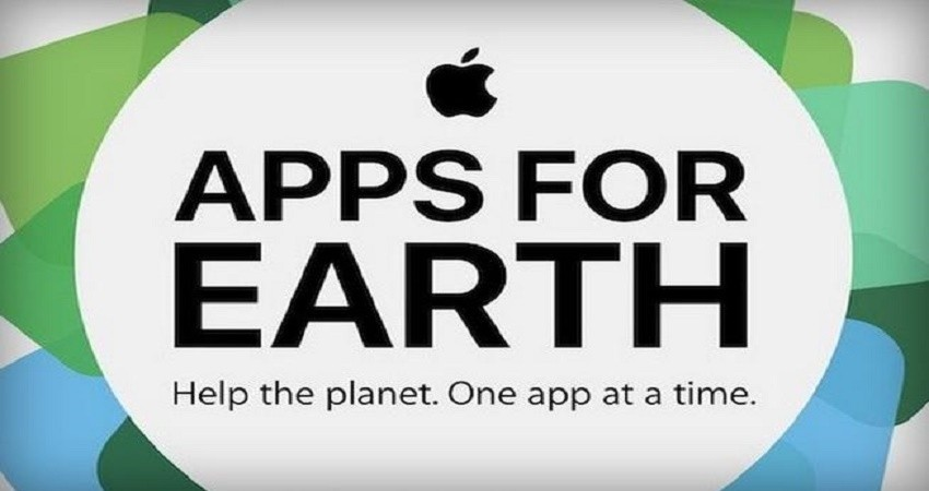 اپل با کمپین Apps for Earth بار دیگر به جمع حامیان محیط زیست پیوست