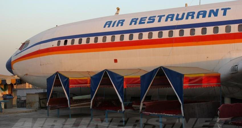 استفاده از هواپیماهای فرسوده به عنوان جاذبه گردشگری