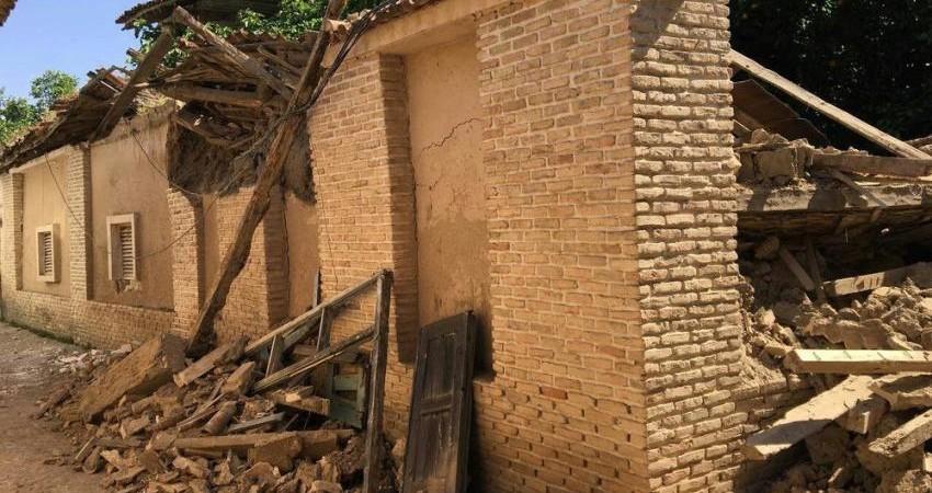 خانه صمدی در بافت تاریخی گرگان فروریخت