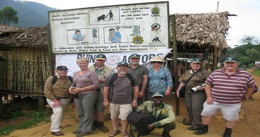 گردشگری اجتماع محور با پیاده روی در بوهوما
