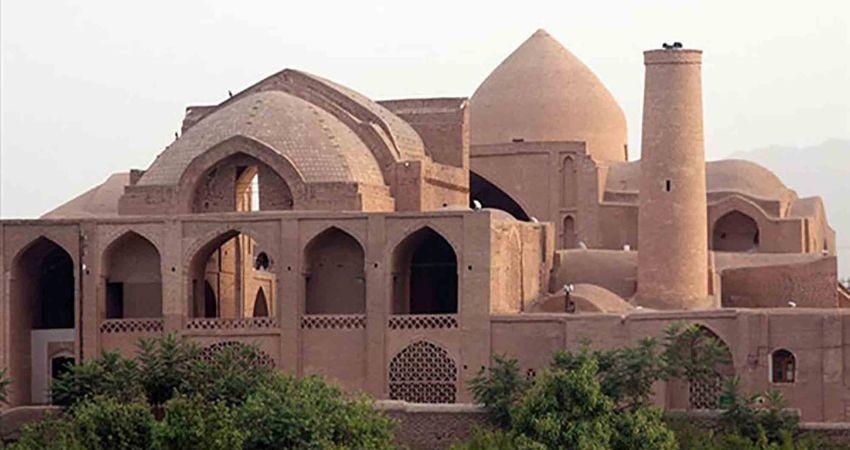 مسجد جامع اردستان؛ دومین مسجد چهارایوانی ایران