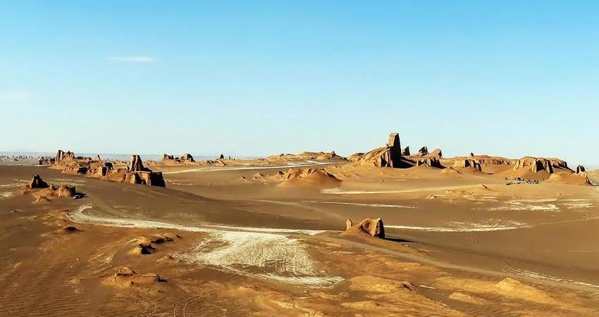 آماده سازی و تجهیز پایگاه میراث طبیعی بیابان لوت برای بازدید گردشگران